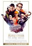 KINGSMAN : THE SECRET SERVICE – German Imported Movie Wall Poster Print - 30CM X 43CM