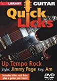 Guitar Quick Licks - Up Tempo Rock/Jimmy Page