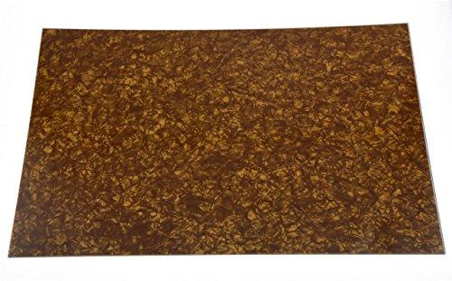 kaish Gold Pearl 3Blanko Plektrumschutz Schlagbrett Material Spannbetttuch 290x 430(mm) (Spannbetttuch Pearl)