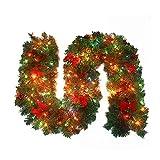 Ghirlanda Di Natale Con Luce, Lunghezza: 2,7 M, Larghezza: 25 Cm.