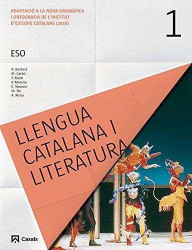 LLENGUA CATALANA I LITERATURA 1º ESO CATALAN (ED 2017) CICLO 1