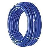 PEX AL Rohr Alurohr Verbundrohr Heizungsrohr isoliert Isolierung 8 mm stark Mehrschichtrohr Fußboden Heizung Rohre (20mm 50m Iso blau)