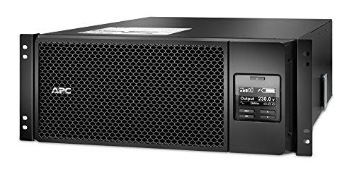 APC Smart-UPS SRT - SRT6KRMXLI - Unterbrechungsfreie Stromversorgung (USV) 6000VA - RM, (6) IEC C13, (4) IEC C19, Hard Wire, 10/100 BaseT-Verbindung, Multifunktionelle LCD-Status- und Steuerkonsole