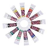 Face & Body Paint Kit, Hidratante Cara Cuerpo Pintura Set para adultos y niños, hipoalergénico Halloween Face Paint