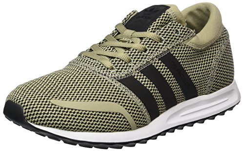 adidas Los Angeles, Sneakers Basses Mixte Adulte Beige (Tech Beige/core Black/ftwr White)
