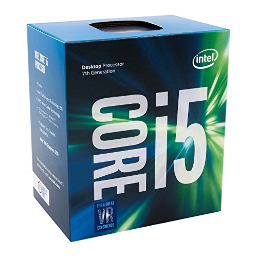 Intel Core i5-7500 3.40 GHz Base Frequency Quad Core 6 MB Cache CPU Processor - Black Test