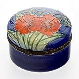 Old Tupton Ware - Hibiscus Design - Round Trinket Box