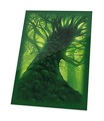 Ultimate Guard Printed Sleeves Standard Size Lands Edition Forest I (80) Carte