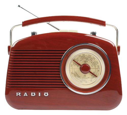 König HAV-TR700BR Retrodesign UKW/MW-Radio thumbnail