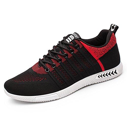 Juleya Chaussures de Sport pour Hommes Chaussures de Course Sports Fitness Gym Athlétique Baskets Sneakers