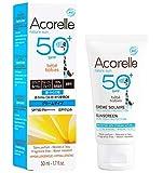 Acorelle - Crema Solar Bebe SPF50 Bio, 50ML