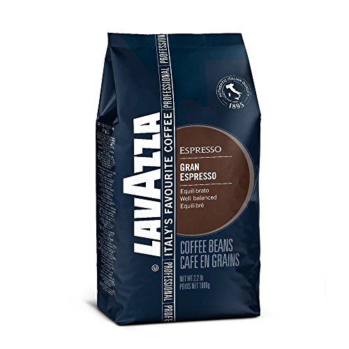 Lavazza Grand Espresso Coffee Beans 1kg (1 Bag)