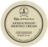 Taylor of Old Bond Street Sandalwood Shaving Cream , 5.3 oz, 2 Pack