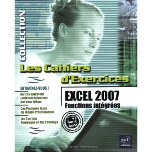 Excel 2007 : Fonctions intégrées