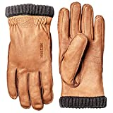 Hestra Handschuhe/Lederhandschuhe Deerskin Primaloft Ribbed