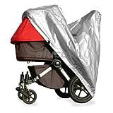 alucush Abdeckung für Kinderwagen Abdor Pepe Regenschutz Regenverdeck