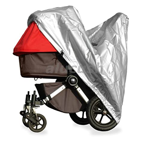 alucush Abdeckung für Kinderwagen ABC-Design 3-Tec Regenschutz