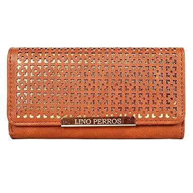 Lino Perros Women's Wallet (Tan)