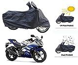 #6: Motrol Yamaha R15/R15 V3/R15 S Bike Body Cover - Black