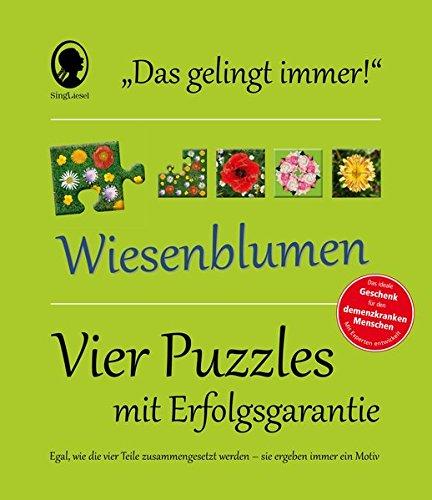 """Das """"Gelingt-immer""""-Puzzle Wiesenblumen: Frustfrei puzzlen!"""
