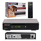OPTICUM Lion AX LION 5-M Decoder Digitale Terrestre HD DVBT/T2/HEVC 10 Bit, Codec H.265, PVR