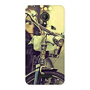 Bycycle Vintage Back Case Cover for Micromax Canvas Spark Q380
