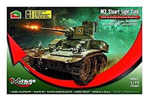 Mirage Hobby 726069-Maqueta de M3Stuart Light Tank 2/6th Australian Armoured Regiment (Buna, Gona, DEC.42
