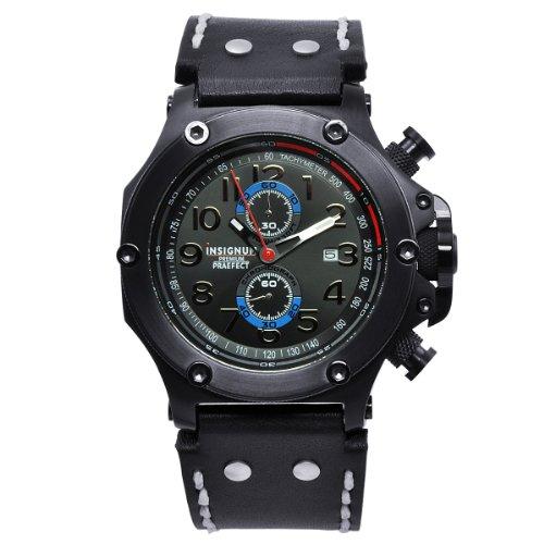 Insignum Herren-Armbanduhr Praefect IP schwarz IP212326