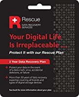 Seagate STZZ758 Rescue 2 Years Data Recovery Service Plan for HDD and SSD
