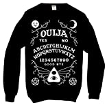 Ouija Board Sweatshirt Black Kill Alternative Gothic Occult Star Alternative