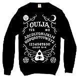 Ouija Board Sweatshirt Black Kill Alternative Gothic Occult Star Alternative