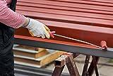 PROFI-Metallschutz Grundierung matt innen & aussen INDUSTRIEQUALITÄT Deckender Anstrich | BEKATEQ LS-120 Wässrige Rostschutz Grundierung QUALITÄTSPRODUKT | Korrosionsschutz Rostschutzgrundierung für Metall, Zink, Aluminium, Kunststoff, Holz | Spritzfähig, überschweißbar, schnelle Trocknung (6KG, Rotbraun)