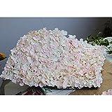 iShine Edle Teppich Typ Hydrangea DIY Hochzeit Einstellung Wanddekoration Straße führte Blume T-Bühne dekorative Foto Hintergrund