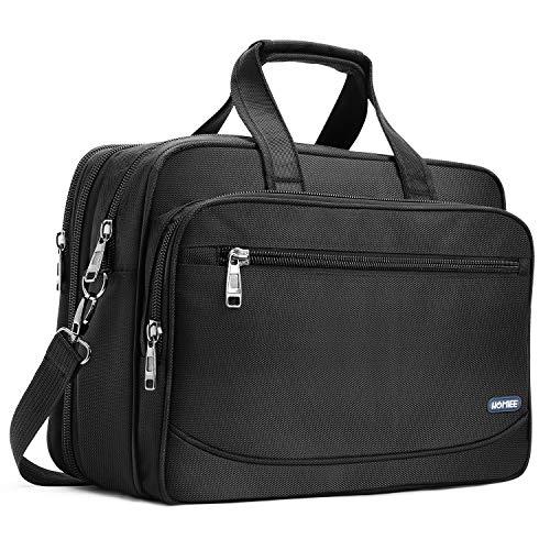 HOMIEE Laptoptasche 17,3 Zoll, Business Aktentasche mit