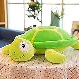 RAILONCH Plüsch Schildkröte, Stofftier Plüschtier Kuscheltier Spielzeug Valentinstag Geburtstag Weihnachten Weihnachten Hochzeitstag Geschenke (Grün,30*45cm)