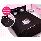housse de couette hello kitty 220x240 voir. Black Bedroom Furniture Sets. Home Design Ideas