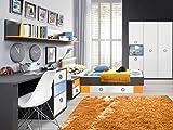 Jugendzimmer Colors Komplett Verschiedene Ausführungen Kinderzimmer Möbel (Jugendzimmer Colors 5tlg, 90er Bett, 4trg. Schrank)