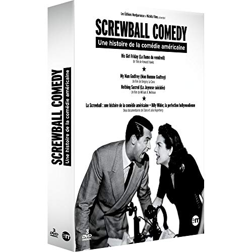 Coffret screwball comedy 4 films [FR Import] (William Powell Filme)