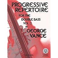 Progressive Repertoire 2 Contrebasse +CD