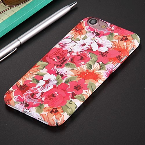 iPhone Case Cover Pour iPhone 7 Étui de protection de modèle de fleur de modèle national de PC ( SKU : Ip7g0594e ) Ip7g0594b