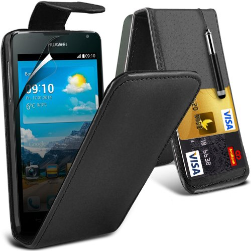 black-huawei-ascend-y530-case-brand-new-protective-3-slots-credit-debit-card-leather-flip-cover-incl