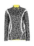 Tao Sportswear W S T-shirt à manches longues, T-shirt à manches longues pour running avec Technologie Outlast pour une dynamique, régulation ProActive de la température 40 crakle black...