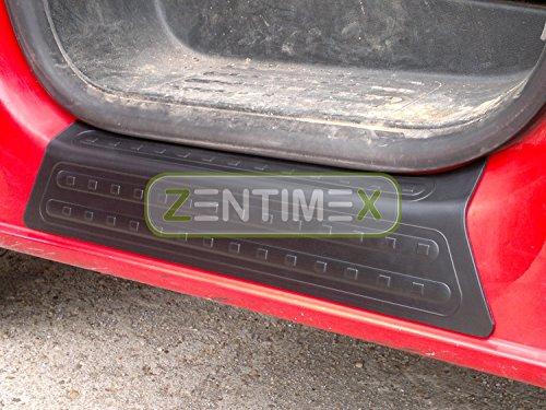 Interiormate Z734815 Einstiegsleisten fahrzeugspezifisch Kunststoff schwarz 3D-Oberfläche 2tlg