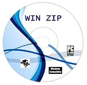 Winzip Zip Rar Arhive Compression Unzipping Software CD Disk For Windows Unzip Unrar Any Zipped File
