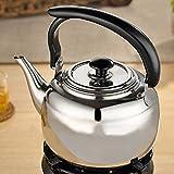 ZAK168sifflante Bouilloire à thé avec poignée Résiste à la Chaleur, DE Cuisine...