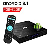 VGROUND T9 Android 8.1 TV Box with 4GB RAM 32GB ROM RK3328 Bluetooth