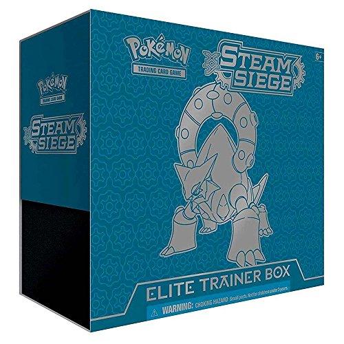 Pokemon 14008 XY #11 Steam Siege Elite-Trainer-Box, englische Version Elite Box