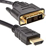 Pro Signal 24+1 DVI D vers HDMI Vidéo câble Ordinateurs Portable ou PC TV Cordon 2 m
