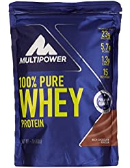 Multipower 100% Pure Whey Protein, Rich Chocolate