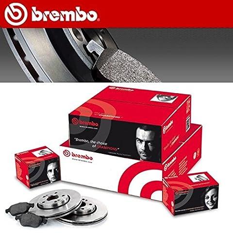 BREMBO BRAKE DISCS KIT ALFA 156 1.9 JTD 16 V 103KW (932) KEEP